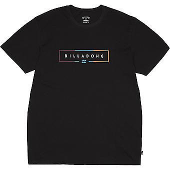 Billabong Men's Premium T-Shirt ~ Unity black