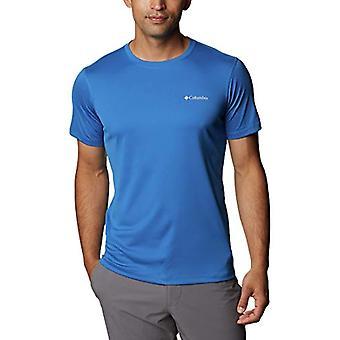 Columbia Zero Rules Short Sleeve Technical Jersey, Men's, Bright Indigo, L