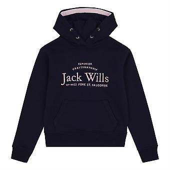 Jack Wills Kids Girls Script Hoodie