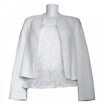 Oui kvinnors Långärmad linne jacka