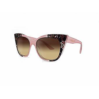Ruby rocks animal tip gozo cateye sunglasses in pink