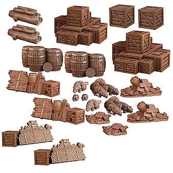 TerrainCrate: Dungeon Resturi board joc
