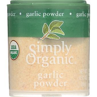 Simply Organic Mini Grlc Pwdr Org, Case of 6 X 0.92 Oz