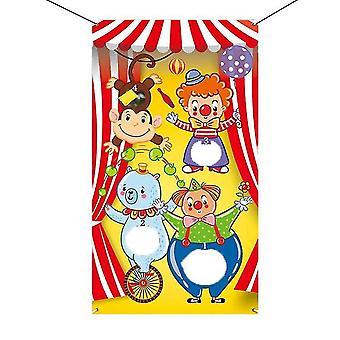 Divertente giocare sacchi di fagioli Giochi di fagioli Borse di fagioli sicuro lancio borse da lancio per il carnevale a tema all'aperto