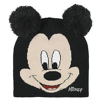 Child Hat Mickey Mouse Black