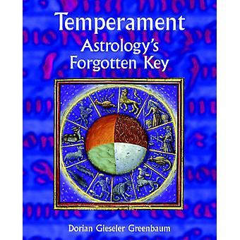 Temperament  Astrologys Forgotten Key by Gieseler Greenbaum & Dorian