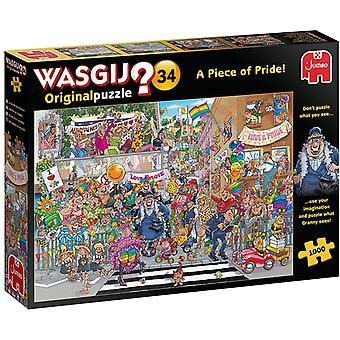 Jumbo Wasgij Original 34 A Piece of Pride! - 1000 Piece