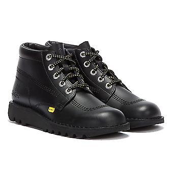 Tower x Kickers Kick Hi Mens Black Boots