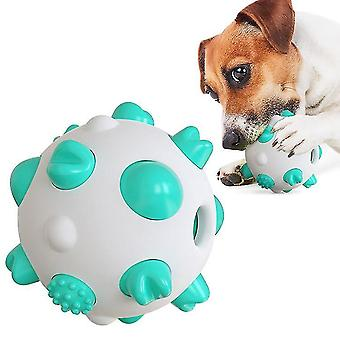 Spherical dog toy molar rod(Blue)