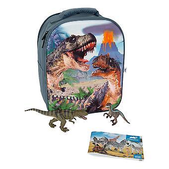 Mojo Dinosaur Prehistoric Life 3D Backpack Playset