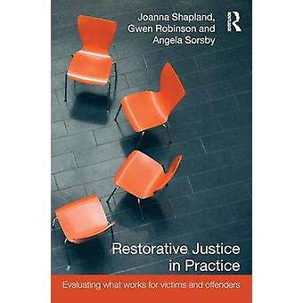 Restorative Justice in Practice Evaluating What Works for Victims and Offenders