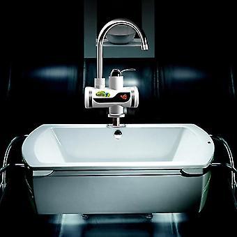 Faucet handles controls electric digital faucet leakage protection cross lower water intake