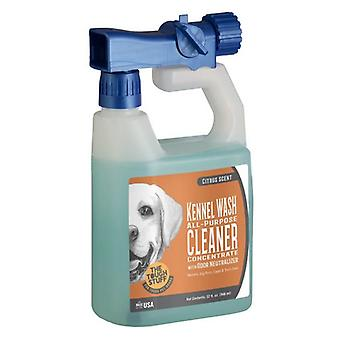 Nilodor Tough Stuff Concentrated Kennel Wash All Purpose Cleaner Citrus Scent - 32 oz