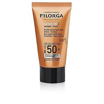 Facial Sun Cream UV-Bronze Filorga Spf 50+ (40 ml)