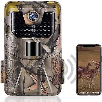 Wifi trail camera  live show bluetooth app control hunting cameras 24mp 1296p night vision ip66