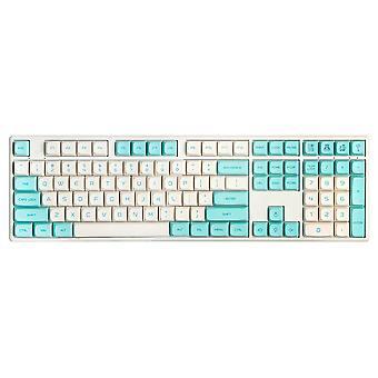138 Key Blue Robin Keycap Set