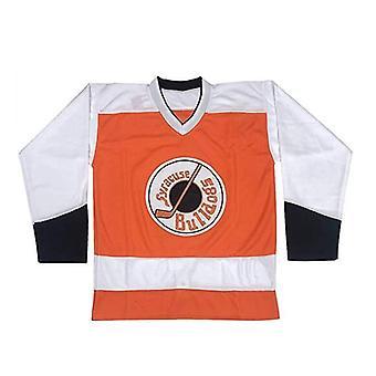 Men's #2 Ogie Ogilthorpe Syracuse Bulldogs Slap Shot Movie Ice Hockey Jersey Stitched
