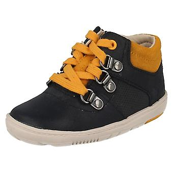 Infant Boys Clarks First Ankle Boots Maxi Square