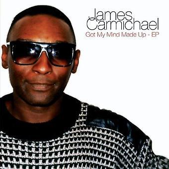 ジェームズ ・ カーマイケル - 得た私の心作ったアップ-EP [CD] USA 輸入