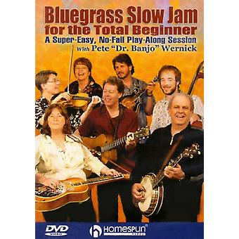 Bluegrass Slow Jam for the Total Beginner - Bluegrass Slow Jam for the Total Beginner [DVD] USA import