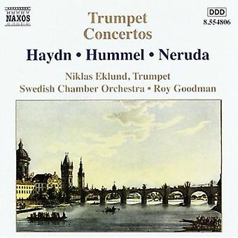 Niklas Eklund - Haydn, Hummel, Neruda: Trumpet Concertos [CD] USA import
