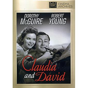 Claudia & David [DVD] USA import
