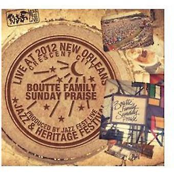 Boutte Family Sunday Praise - Live at Jazzfest 2012 [CD] USA import