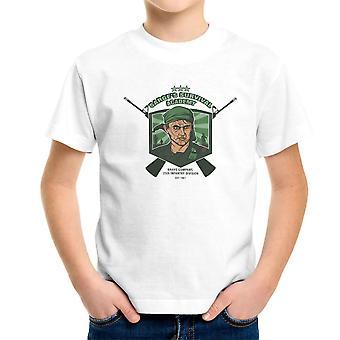 Sarges Survival Academy Platoon Sergeant Barnes Kid's T-Shirt