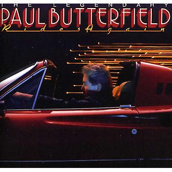 Paul Butterfield - importazione Rides Again [CD] Stati Uniti d'America