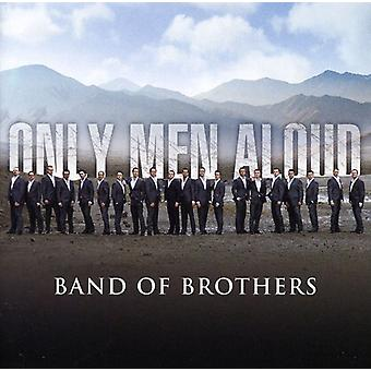 Kun mænd Aloud - Band of Brothers [CD] USA import