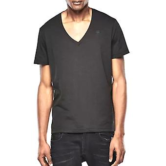 G-Star V-Neck Double Pack Regular Fit Black T-Shirt