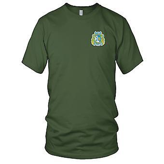 US Navy okręt podwodny dywizjonu 6 wyszywana naszywka - koszulki męskie