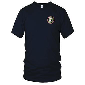 ARVN speciale luchtlandingstroepen Loi Ho Thunder Tiger - Hand genaaid Vietnamoorlog geborduurde Patch - Mens T Shirt