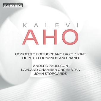 Aho / Paulsson / Storgards - Concerto for Soprano Saxophone & Chamber Orchestra [SACD] USA import