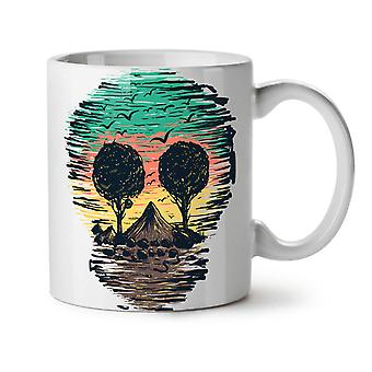 Nature Tree Birds Skull NEW White Tea Coffee Ceramic Mug 11 oz | Wellcoda
