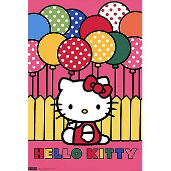 Hello Kitty - Mimmy Poster Print