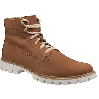 Caterpillar Mens base leve flexível durável Lace-Up Boots