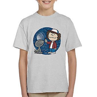 Fremde Dinge fremde Haustier Kinder T-Shirt