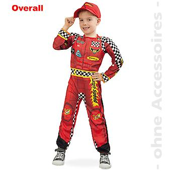 Race car driver costume formula one children car pilot child costume