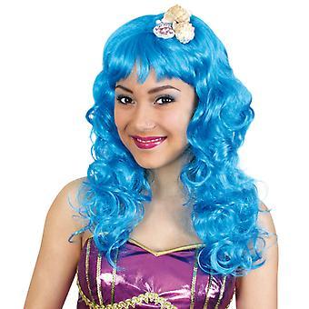 Peruca sirena Longhair Blue sirena