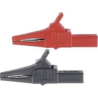 Stäubli XKK-1001 Sicherheitsklemme 4 mm Klinkenstecker CAT II 1000 V Schwarz