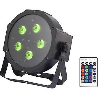 Renkforce GM307 LED זרקור שלב הבמה לא. של נוריות: 5 x 9 W שחור