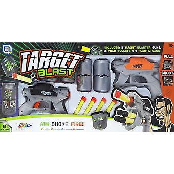 Grafix 2 Pleyer Ziel Blast Kunststoff Gun Set mit Schaumstoff Kugeln