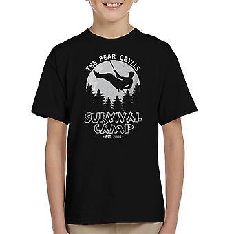 Bear Grylls Survival Camp dla dzieci T-Shirt