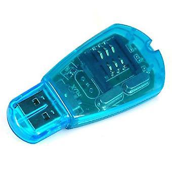 DIGIFLEX USB SIM カード リーダー ライター コピー クローナーは、GSM CDMA をバックアップします。