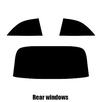 Pre cut fönstret nyans - Mercedes CLK Cabriolet - 2003 till 2006 - bakre windows