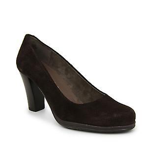 Liberitae basic Salon Salon shoes high suede Brown 21719466-02
