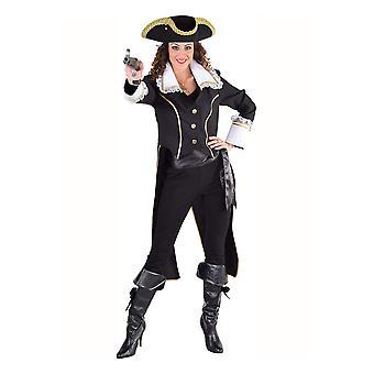 Trajes de mulheres senhoras jaqueta de pirata