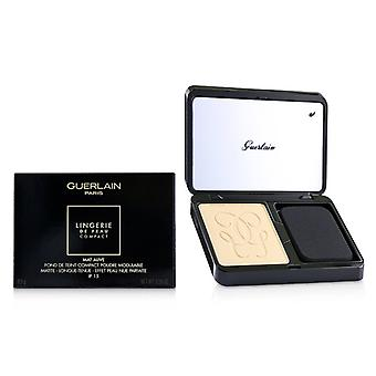 Guerlain Lingerie De Peau Mat Alive Buildable Compact Powder Foundation Spf 15 - - 03n Naturale - 8.5g/0.29oz
