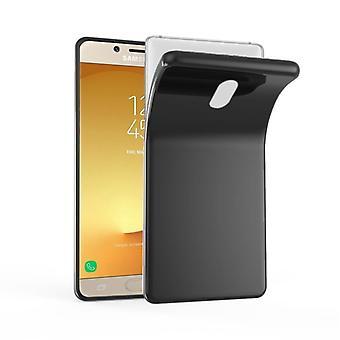 Cadorabo Case for Samsung Galaxy J7 2017 Case Cover - Mobile Phone Case made of flexible TPU silicone - Silicone Case Protective Case Ultra Slim Soft Back Cover Case Bumper